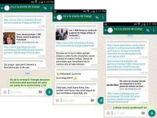 Efecte viral - Recull de premsa de la jornada al Parlament